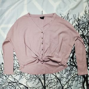 URBAN OUTFITTERS Long Sleeve Sweater lt. Purple  S